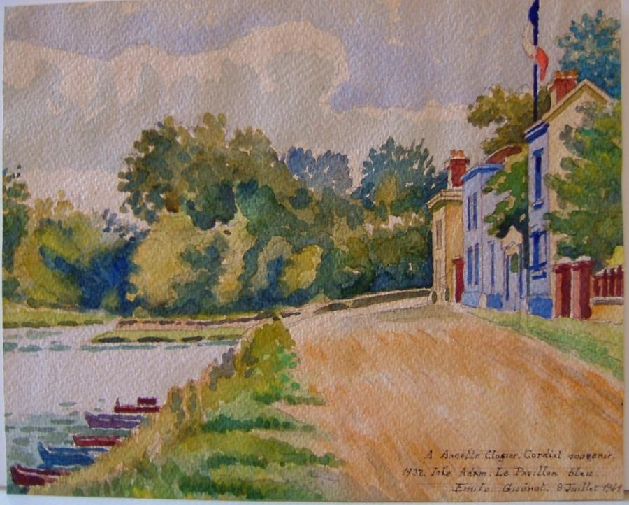 L'Isle Adam, le pavillon bleu, 1922_0