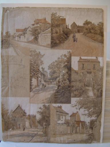 Rues et maisons de Seine et Oise