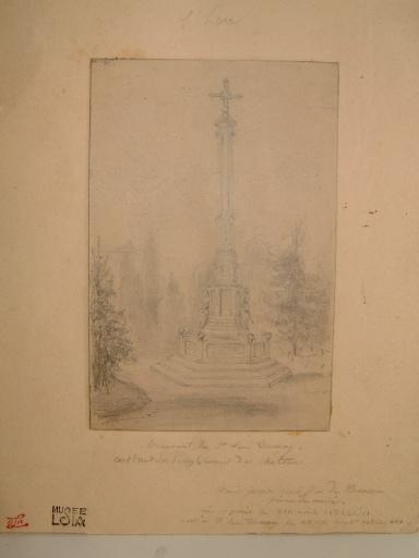Monument de St Leu Taverny construit sur l'emplacement du château_0