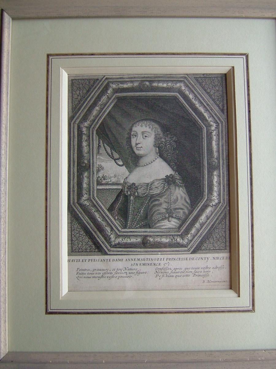 Haute et puissante dame Anne Martinozzi, princesse de Conty, nièce de son Eminence_0