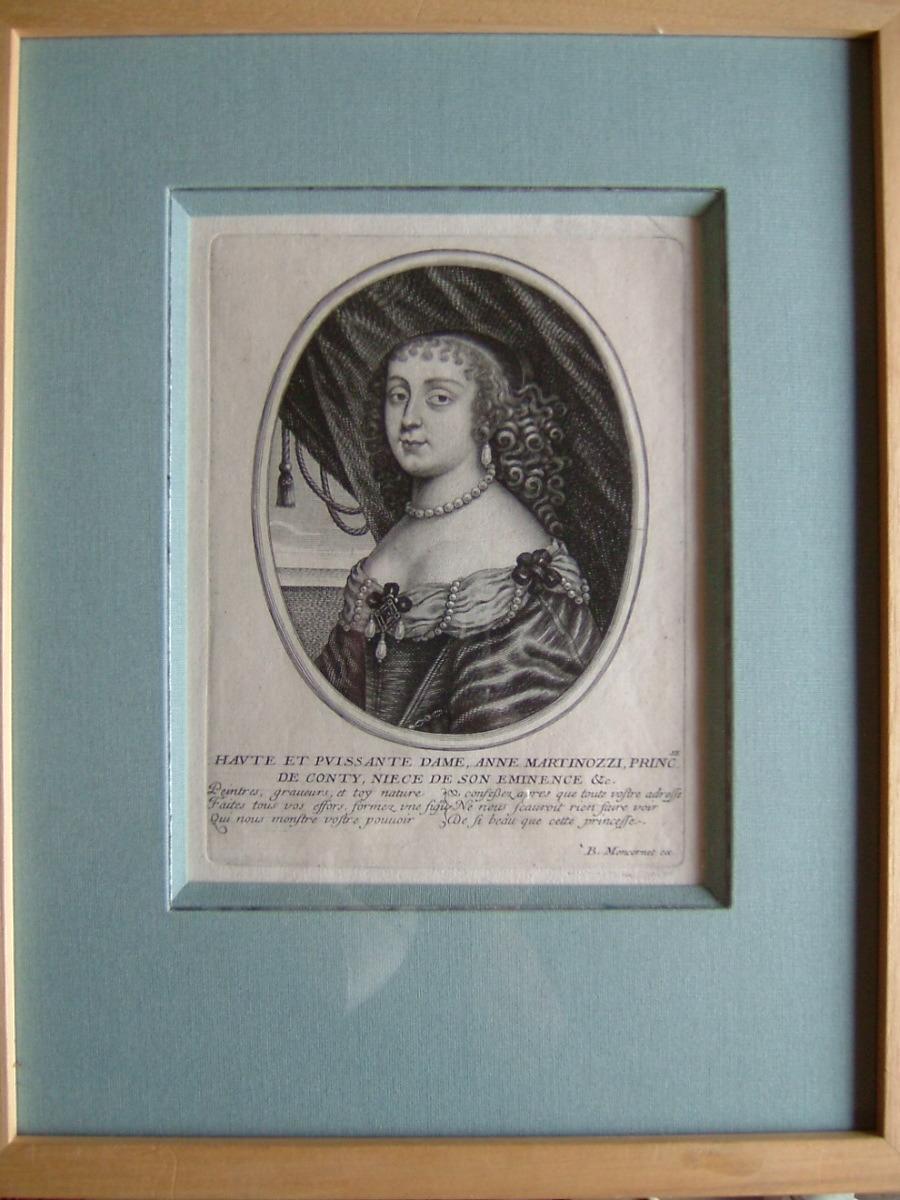 Haute et puissante dame Anne Martinozzi, princesse de Conty, nièce de son Eminence