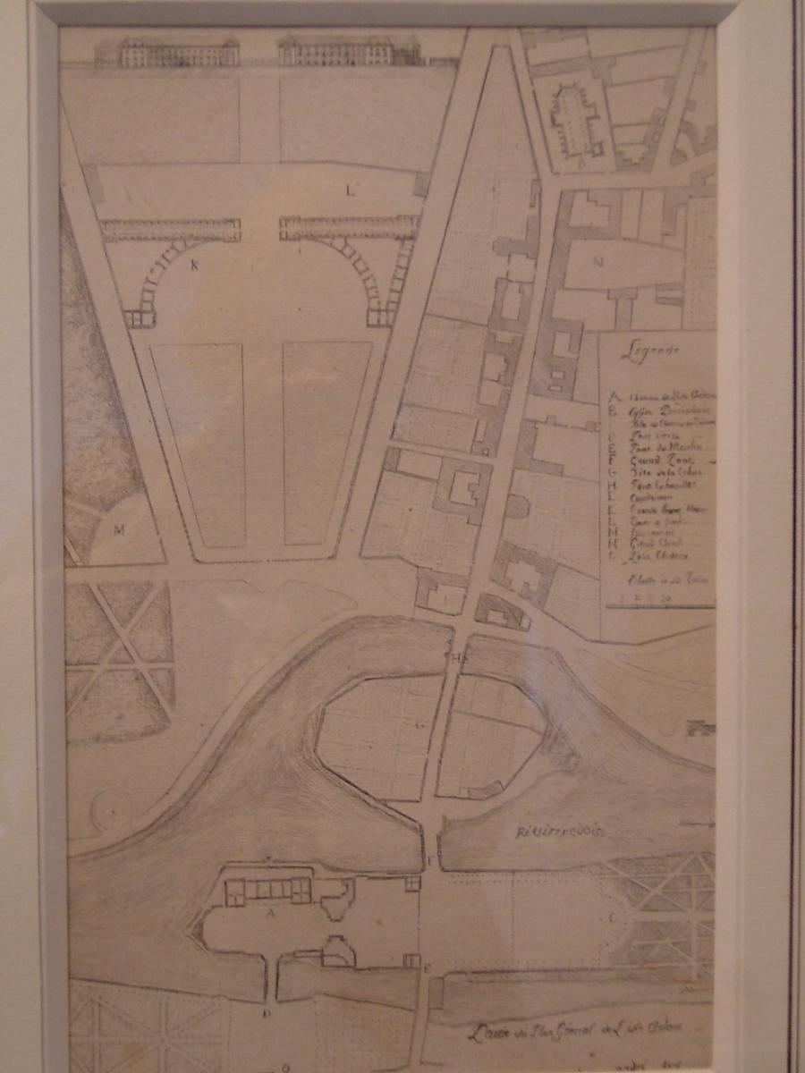 Partie du plan général de l'Isle-Adam 1809_0