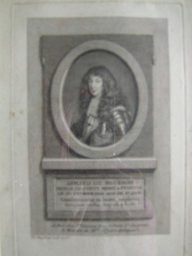 VANGELISTI Vincenzo : Armand de Bourbon, Prince de Conty, mort à Pézenas le 20 février 1866, âgé de 37 ans