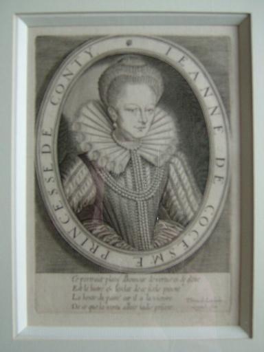Jeanne de Cocesme, Princesse de Conty