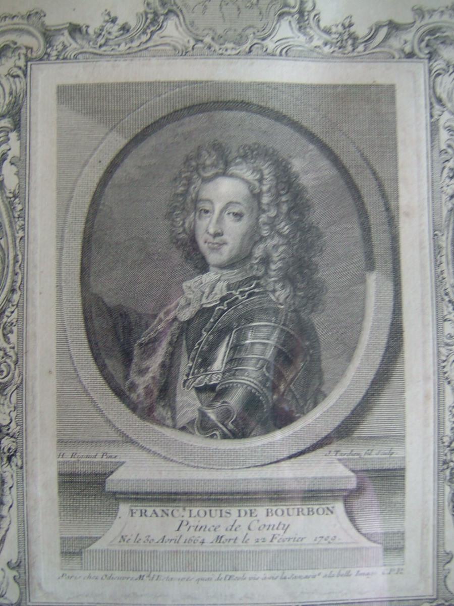François Louis de Bourbon, Prince de Conty, né le 30 avril 1664 mort le 22 février 1709_0