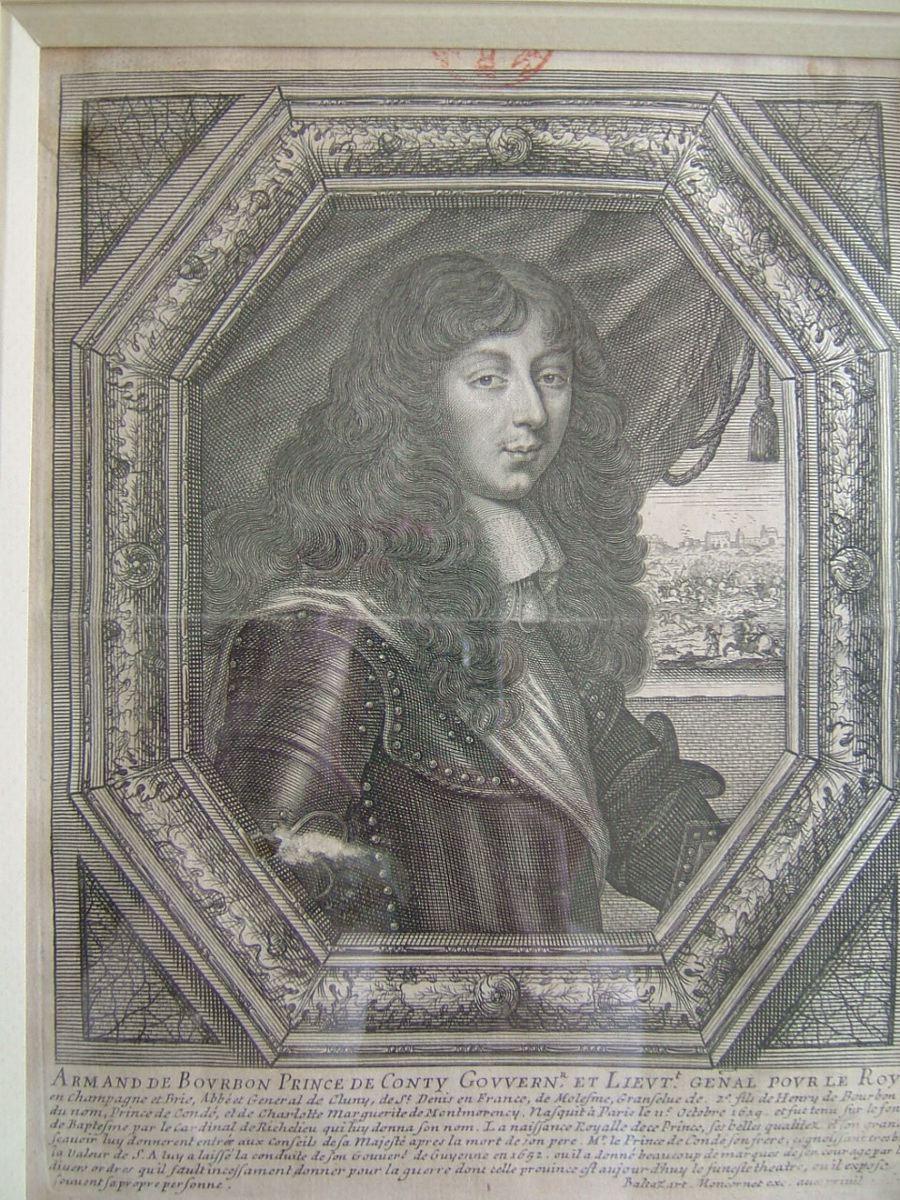 Armand de Bourbon, prince de Conty, gouvernr et lieut. genal pour le Roy_0