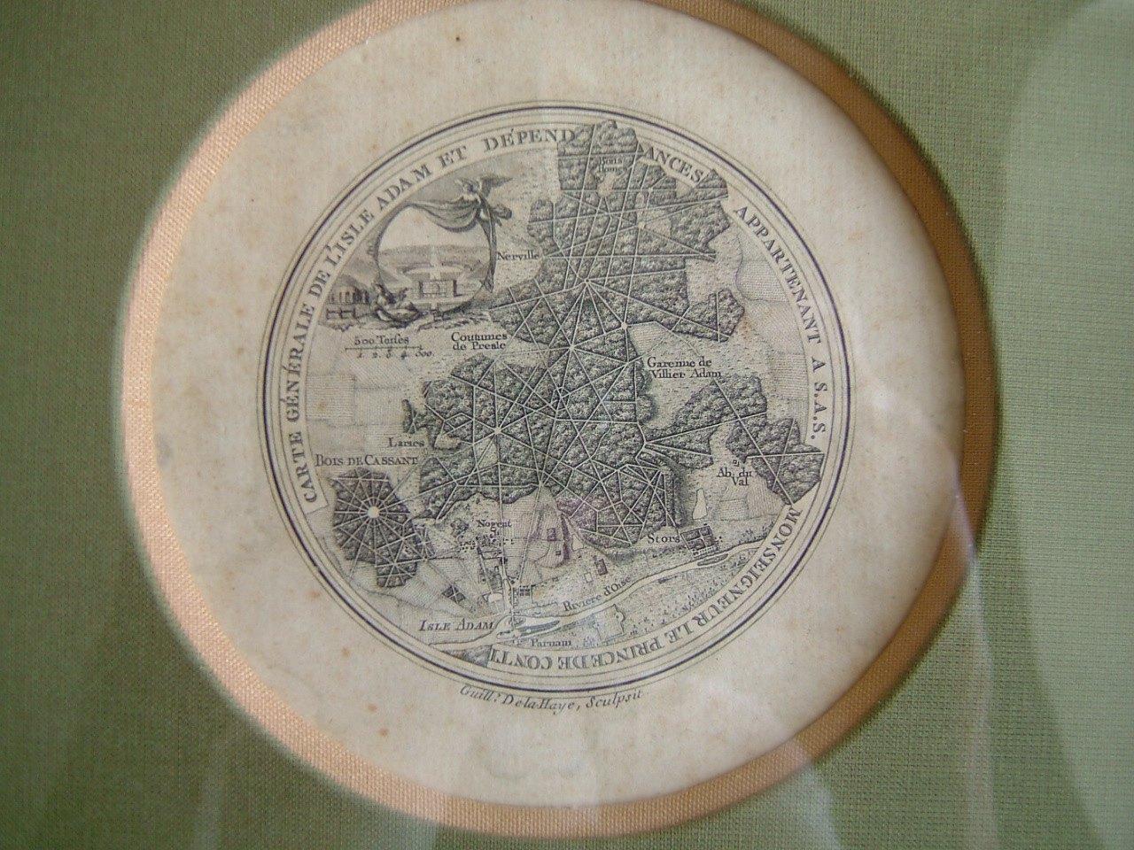 LA HAYE Guillaume de : Carte générale de l'Isle-Adam et dépendances appartenant à S.A.S. Monseigneur le Prince de Conti
