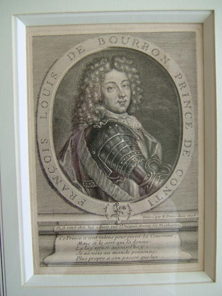 François Louis de Bourbon, prince de Conti, 1664-1709