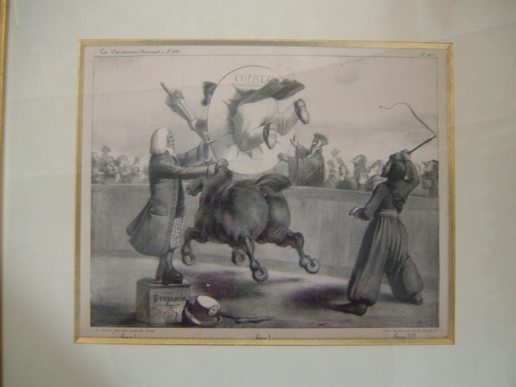 DELAUNOIS, ROUBAUD Benjamin (d'après) : La caricature (n° 191), Hop.. Hop.. Hop...
