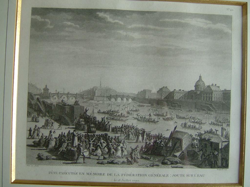 Fête exécutée en mémoire de la Fédération Générale : joute sur l'eau le 18 juillet 1790_0