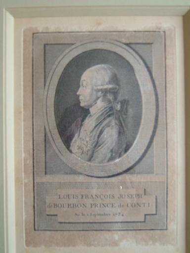 anonyme : Louis François Joseph de Bourbon, prince de Conti né le 1er septembre 1734