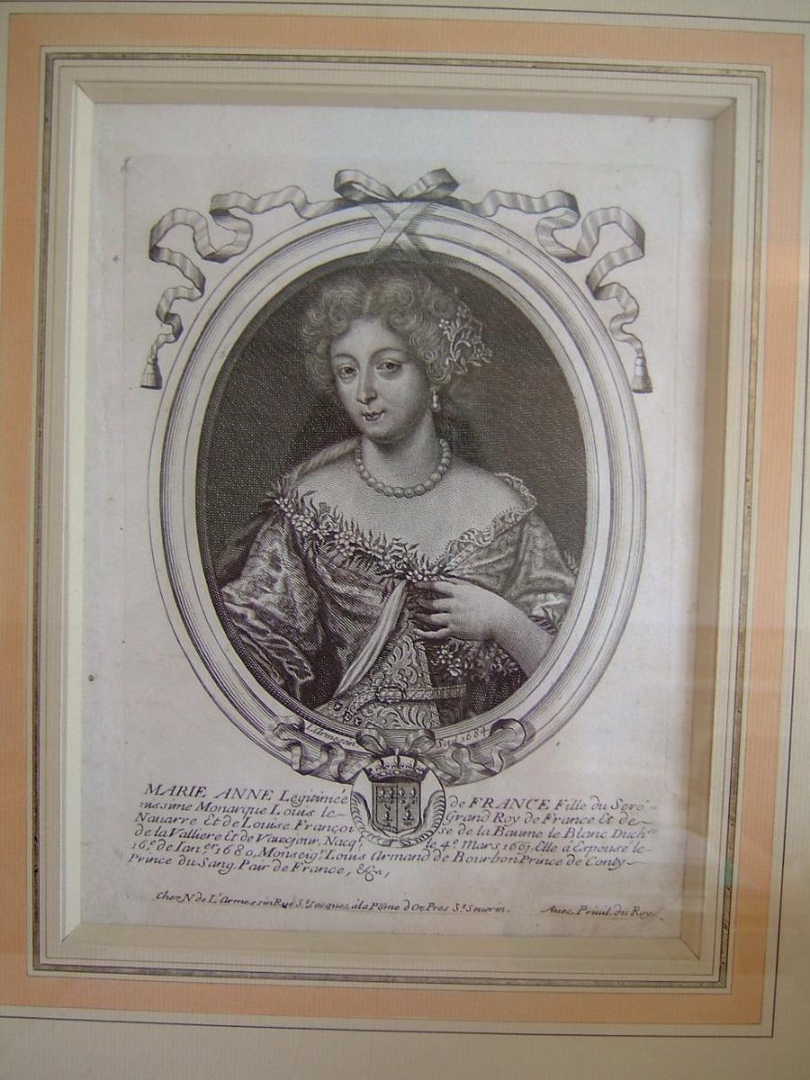 Marianne légitimée de France fille du sérénissime monarque Louis le Grand roi de France et de Navarre ... née le 4 mars 16..._0