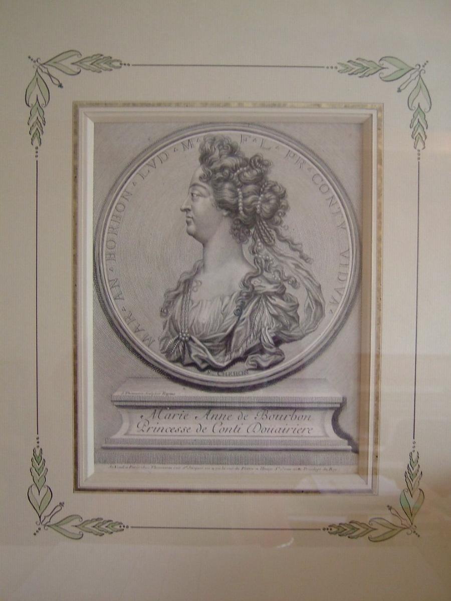 Marie Anne de Bourbon, princesse de Conty, douairière