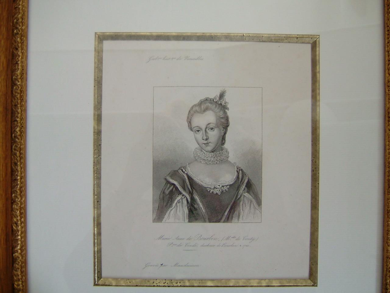 Marie Anne de Bourbon, (Melle de Conty) Princesse de Condé, Duchesse de Bourbon, décédée en 1720_0