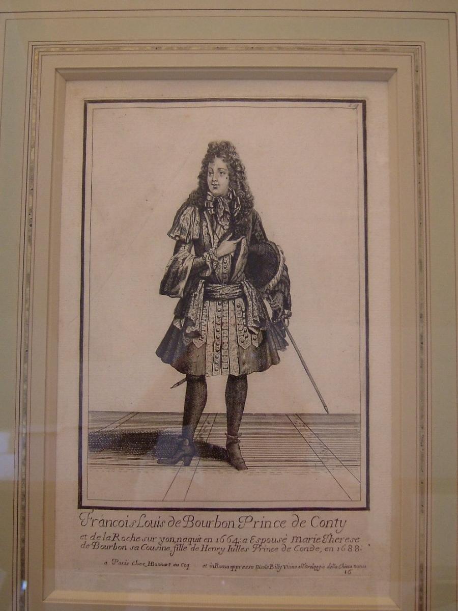 François Louis de Bourbon, Prince de Conty et de la Roche sur Yon, naquit en 1664...