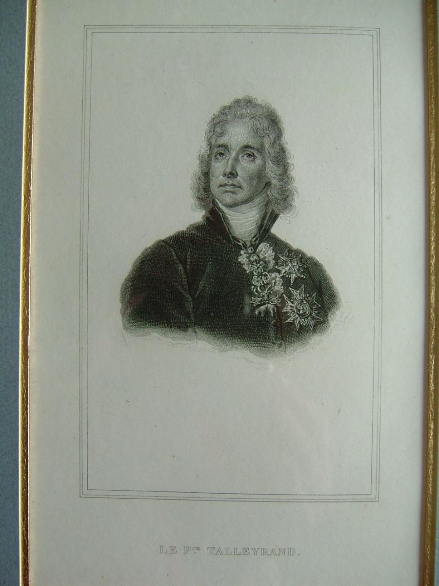 anonyme : Le prince de Talleyrand
