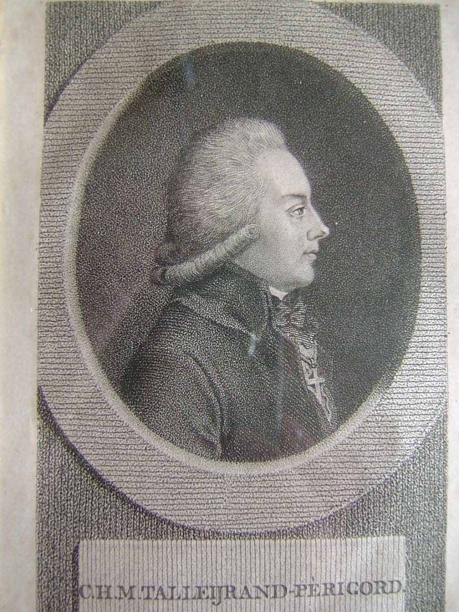 CLAESSENS Lambertus Antonionus (graveur) : C.H.M. Talleyrand-Perigord