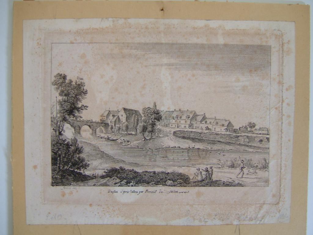 BENOIT DU SABLON : Pont de L'Isle-Adam