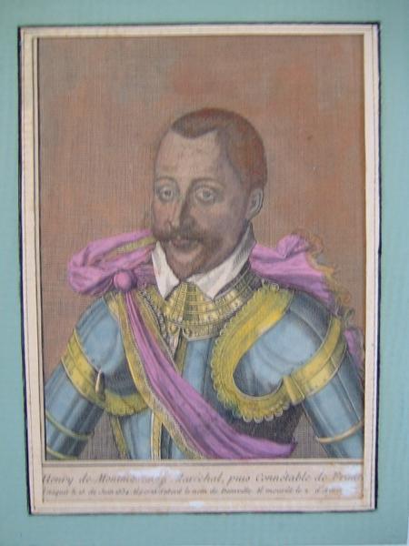 Henri de Montmorency, maréchal puis connétable de France_0