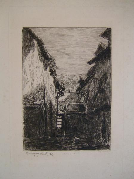DAUBIGNY Karl : Chaumière 1876