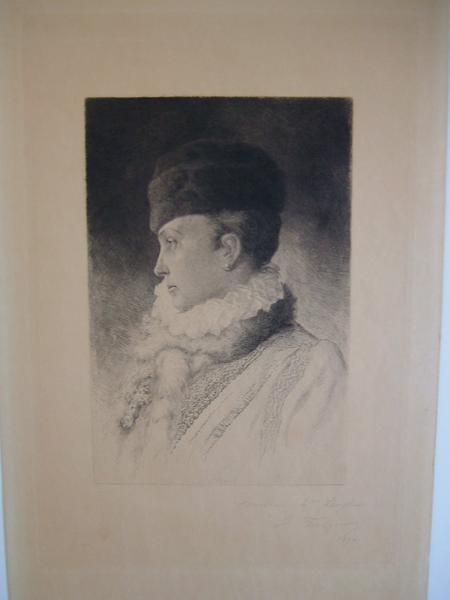 FOULQUIER Jean Antoine Valentin : Portrait de Mme Foulquier ?