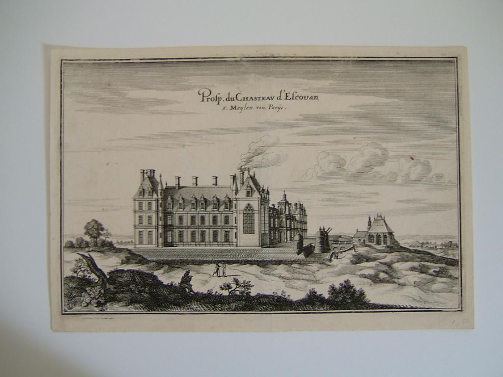 Prosp. du Chasteau d'Escouan, s.Meylen von Parys
