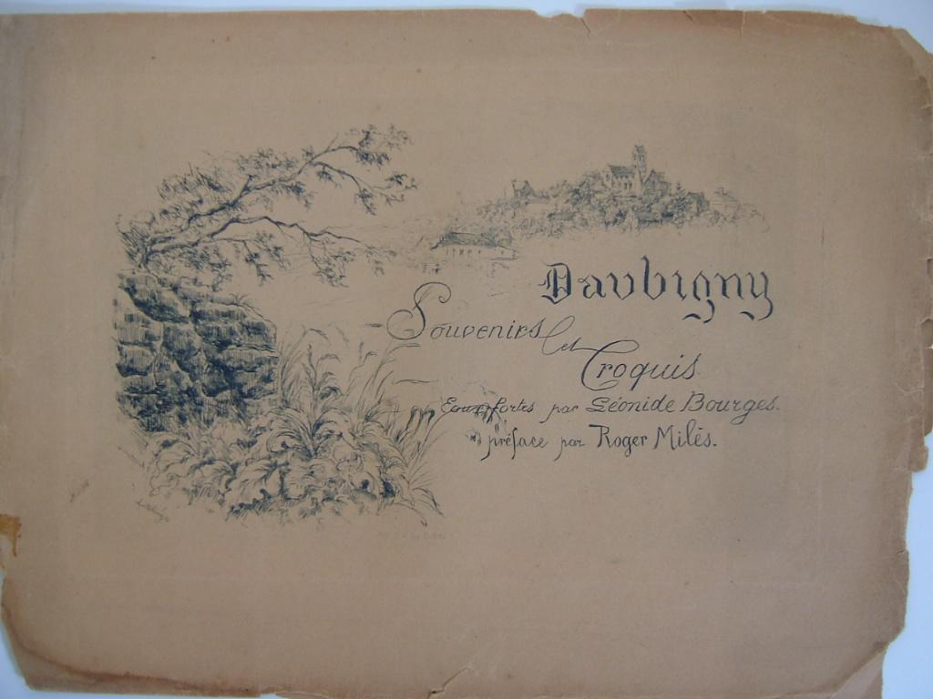 Daubigny, souvenirs et croquis (02) : Couverture de l'album_0