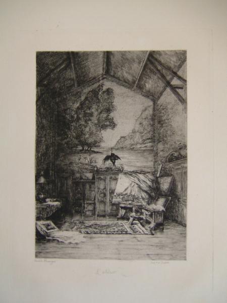 Daubigny, souvenirs et croquis (04) : L'atelier (de Daubigny)_0