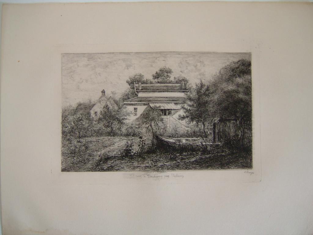 Daubigny, souvenirs et croquis (05) : La maison de Daubigny 'Aux Vallées'