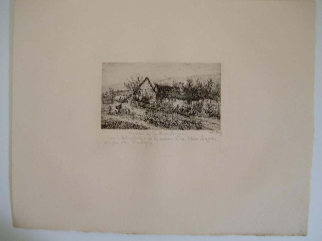 Daubigny, souvenirs et croquis (06) : Maison de la mère Bazot (Valmondois)_0
