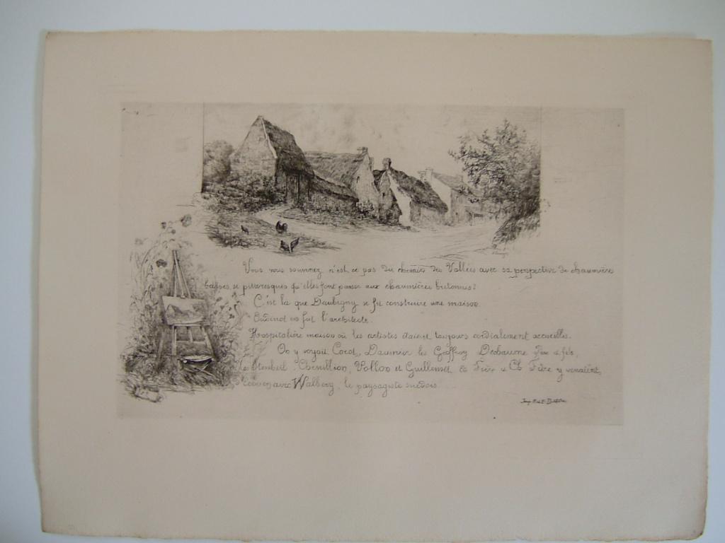 Daubigny, souvenirs et croquis (09) : Chemin des Vallées (Auvers sur Oise)_0