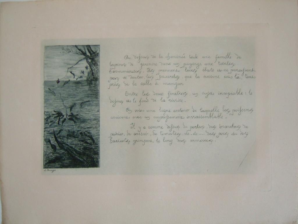 BOURGES Léonide : Daubigny, souvenirs et croquis (14) : Le fond de la rivière