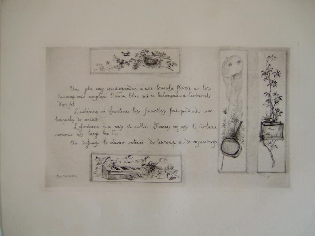 Daubigny, souvenirs et croquis (15) : Quatre motifs plus texte_0