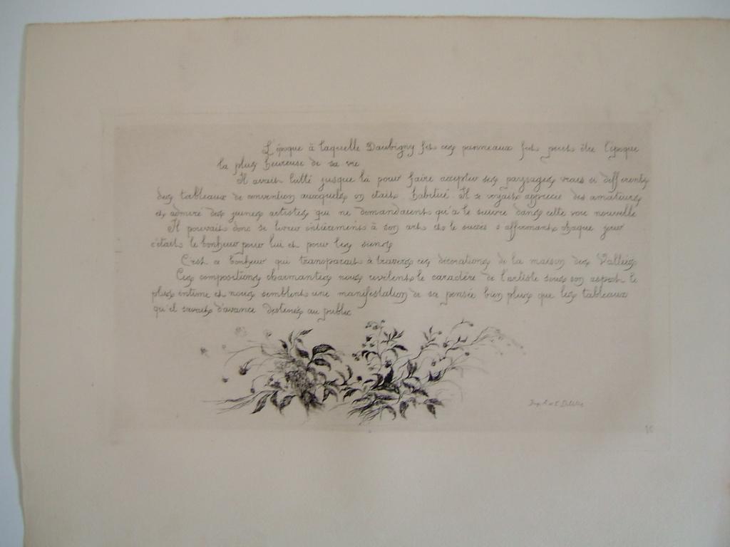 Daubigny, souvenirs et croquis (20) : Décoration de la maison des Vallées (maison de Daubigny)_0
