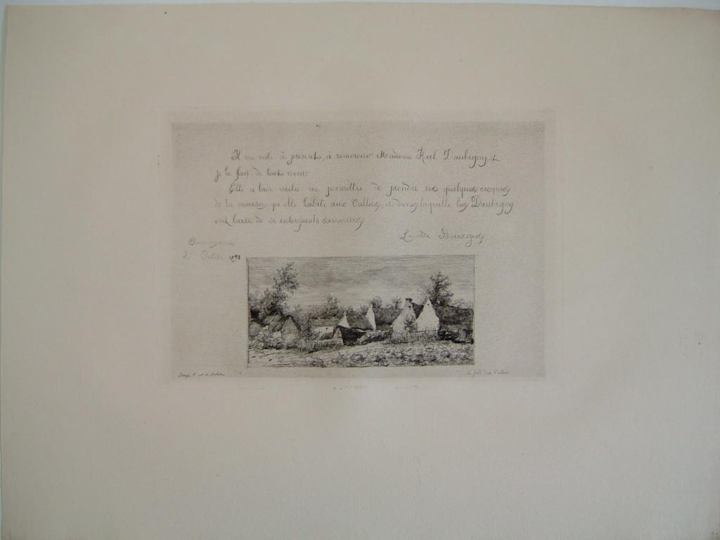 Daubigny, souvenirs et croquis (25) : Le fond des Vallées (Maison de K. Daubigny aux Vallées à Auvers sur Oise)_0