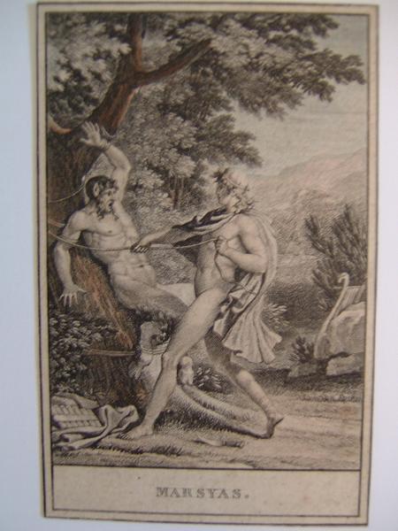 anonyme : Apollon et Marsyas
