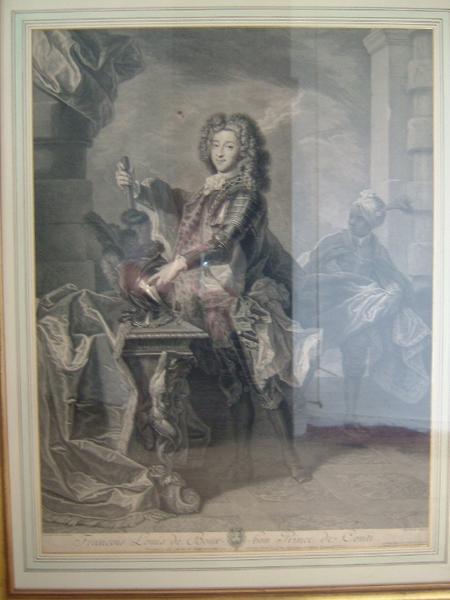 DREVET Pierre Imbert, RIGAUD (d'après) : François Louis de Bourbon, prince de Conti