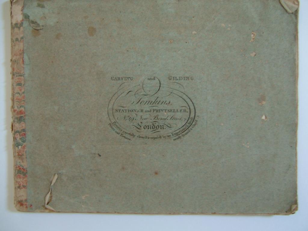 Book of etchings (recueil de gravures exécutées sur papier orange) (12 vignettes)_0
