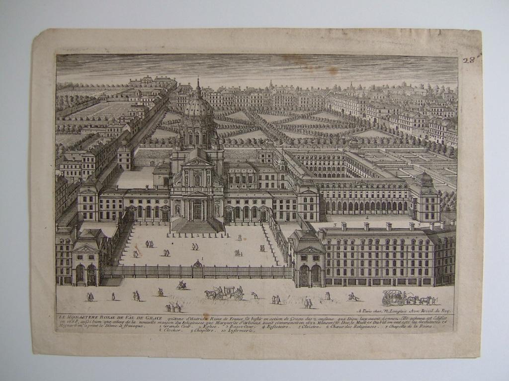 anonyme, LANGLOIS N (éditeur) : Monastère royal de Val de Grâce