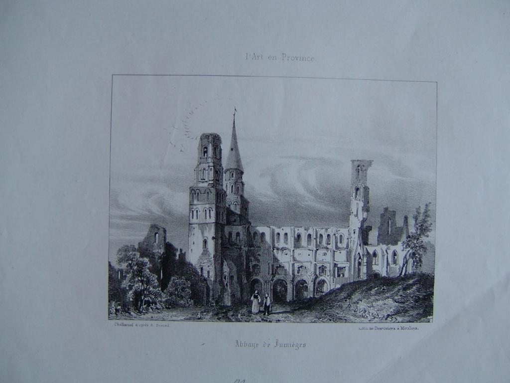 Abbaye de Jumièges 1837_0
