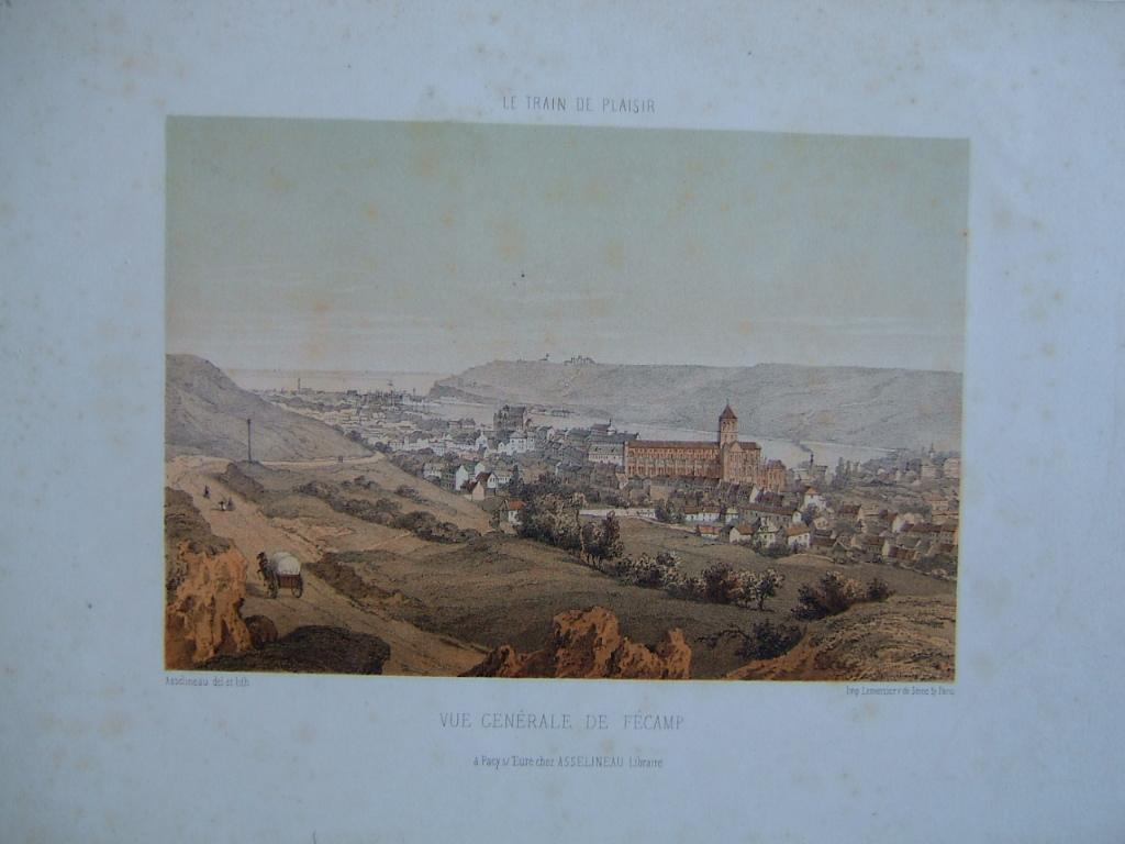 ASSELINEAU Léon Auguste : Vue générale de Fécamp