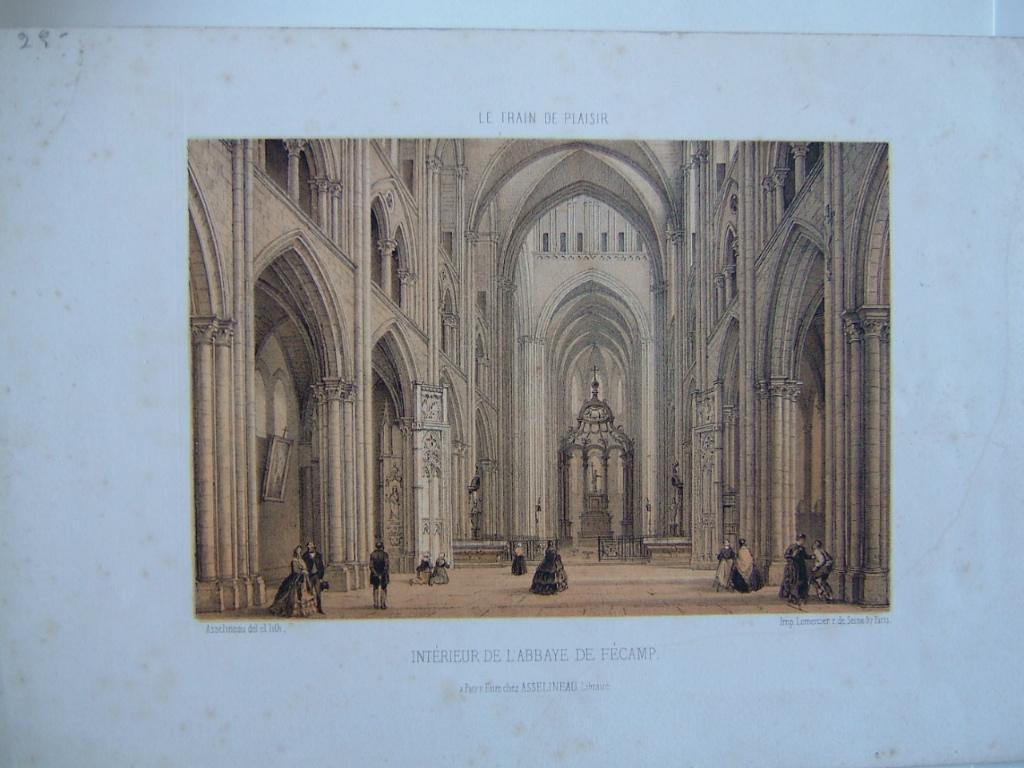 Intérieur de l'abbaye de Fécamp_0