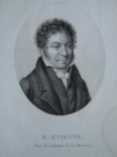 M Etienne, l'un des auteurs de la Minerve_0