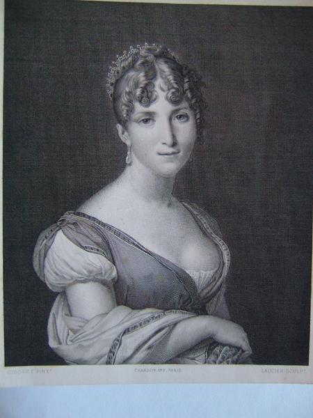 La reine Hortense mère de Napoléon III (Hortense de Beauharnais)