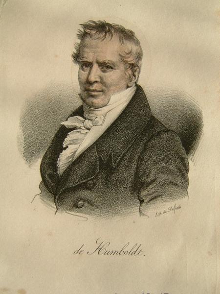 Portrait de A. de Humboldt