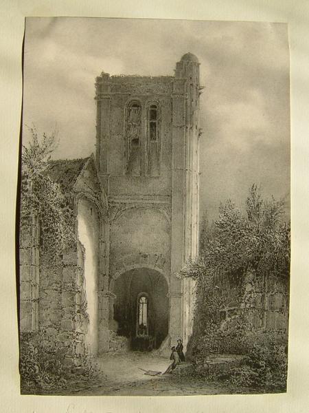 Tour de l'église de Chaumont (Oise)