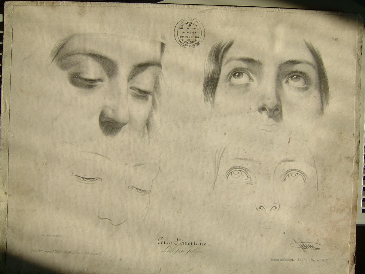 Etudes de visage