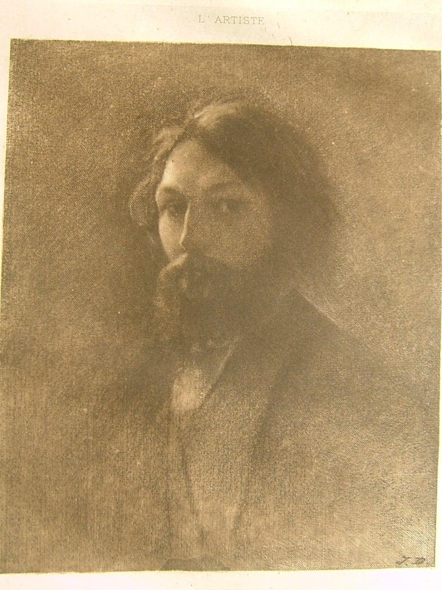 DUPRE Jules : Jules Dupré par lui-même juillet 1894