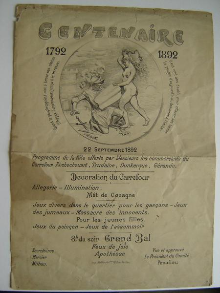 Centenaire 1792 - 1892_0