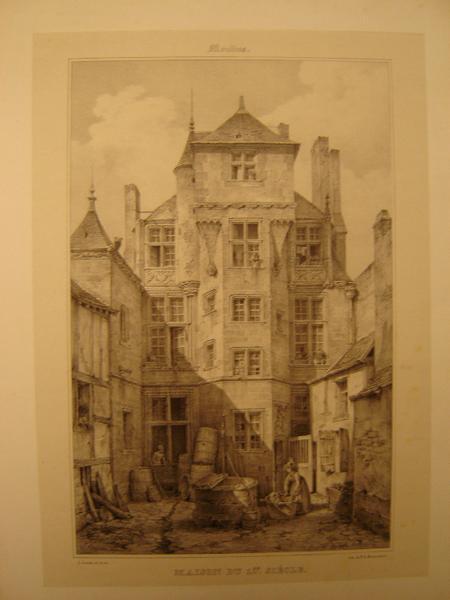 Moulin, maison du XVème siècle